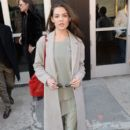 Actress Danielle Campbell attends the ICB collection presentation during, New York Fashion Week: The Shows at Gallery 3, Skylight Clarkson Sq on February 14, 2017 in New York City