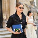 Gigi Hadid – Outside the Valentino Haute Couture Show in Paris