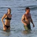 Sean Penn and Leila George  -  Wallpaper
