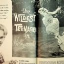 Tuesday Weld - Movie Mirror Magazine Pictorial [United States] (August 1959) - 454 x 285