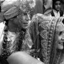 Nick Chinlund and Sakina Jaffrey in Mata Films' Chutney Popcorn - 2000