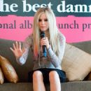 """Avril Lavigne - """"The Best Damn Thing"""" Press Conference In Hong Kong"""