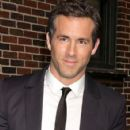 Ryan Reynolds at the 'Late Show with David Letterman' in New York City, NY