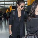 Selena Gomez Heathrow Airport In London