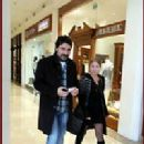 Bulent Inal and Melis Tüysüz - out and about