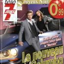 Sandrine Quetier, Simon Baker - Télé 7 Jours Magazine Cover [France] (26 December 2009)