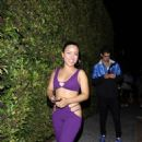 Cierra Ramirez – Attends Demi Lovato's Halloween Party at Hyde in Hollywood - 454 x 681