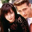 Jason Priestley and Shannen Doherty in Beverly Hills,90210