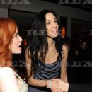 L'Wren Scott and Mick Jagger dinner to celebrate her collection at The Mark Hotel, New York - 22 February 2011 - 366 x 550