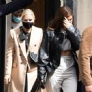 Kylie Jenner – spotted with friends in Paris