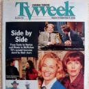 Andy Richter, Conan O'Brien, Fran Drescher, Chuck Norris, Clarence Gilyard, Cybill Shepherd, Christine Baranski - Chicago Tribune TV Week Magazine Cover [United States] (27 August 1995)
