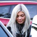 Kylie Jenner and Jordyn Woods – Leaving dinner in Calabasas