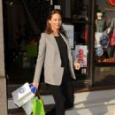 Christy Turlington Shops at Torly Kid in Tribeca