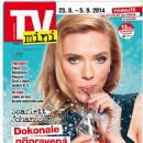 Scarlett Johansson - TV Mini Magazine Cover [Czech Republic] (23 August 2014)