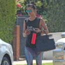 Nina Dobrev – Leaving the Gym in Los Angeles 9/21/2016 - 454 x 681