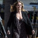 Heidi Klum spotted on the set of 'Ocean's Eight' in Los Angeles, California on March 6, 2017 - 427 x 600