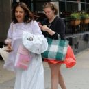Lena Dunham is spotted outside her hotel in New York City, New York on June 6, 2016