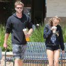 Liam Hemsworth and Maika Monroe
