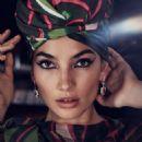 Lily Aldridge – Harper's Bazaar Arabia (December 2017) - 454 x 613