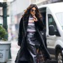 Priyanka Chopra in Long Coat out in New York City - 454 x 681