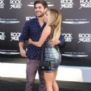 Ashley Tisdale and Zac Efron walked the red carpet at the Rock of Ages premiere last night, June 8, in Los Angeles