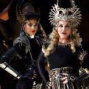 Super Bowl XLVI Halftime Show - Madonna and Sofia Boutella
