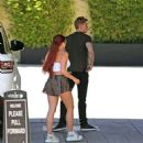 Ariel Winter in Shorts and Tank Top out in LA