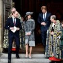 British Royals attend the 2016 Commonwealth Service