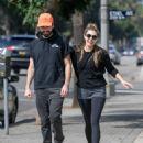 Elizabeth Olsen – Seen out with Robbie Arnett in LA October 7, 2017