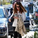 Maria Shriver spends time out and about in Brentwood, California on January 08, 2016 - 410 x 600