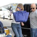 Gwyneth Paltrow At Lax In Los Angeles
