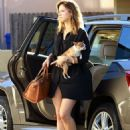Katharine McPhee In Mini Dress Out In La