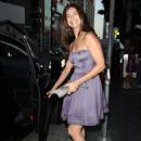 Roselyn Sanchez - Arriving At Katsuya In West Hollywood - 2010-07-22
