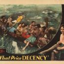 What Price Decency - Dorothy Burgess