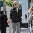 Charlize Theron – Hits up a gym in Beverly Hills