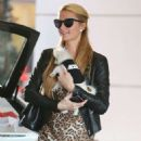Paris Hilton Goes Shopping In Beverly Hills