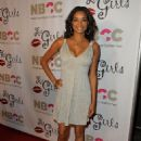 Singer Rochelle Aytes arrives at Les Girls 9, a cabaret featuring celebrity performances to raise funds for the National Breast Cancer Coalition on October 5, 2009 in Los Angeles, California
