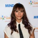 Rashida Jones At Goldie Hawns Inaugural Love In For Kids Event In Beverly Hills