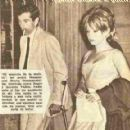 Roger Vadim and Annette Stroyberg