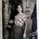 Alida Valli - Illustrato Rivista di Attualita Magazine Pictorial [Italy] (15 August 1949)