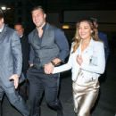 Tim Tebow And Demi-Leigh Nel-Peters Outside Egyptian Theatre In Hollywood - 429 x 600