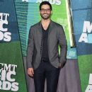 Actor Tyler Hoechlin attends the 2015 CMT Music awards at the Bridgestone Arena on June 10, 2015 in Nashville, Tennessee