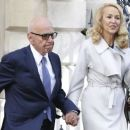Jerry Hall and Rupert Murdoch - 454 x 260