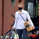 Claire Danes – Seen out in Downtown Manhattan