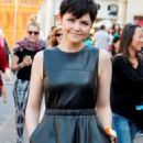 Ginnifer Goodwin at The Grove on Friday