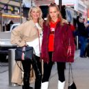 Christie Brinkley with her daughter arriving to the Knicks vs Heat Basketball game in NYC - 454 x 595