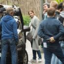 Jenna Louise Coleman and Sophie Kennedy-Clarke – Filming 'The Cry' in Glasgow - 454 x 302