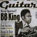 B.B. King - The Guitar Magazine Cover [United Kingdom] (September 2001)