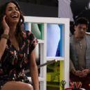 Los Caballeros Las Prefieren Brutas/On set with Patricia Castaneda and Mijail Mulkay