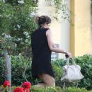 Kylie Jenner In Short Dress Out In Calabasas